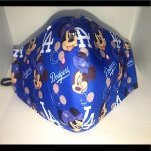 Dodgers Unisex Mickey face mask